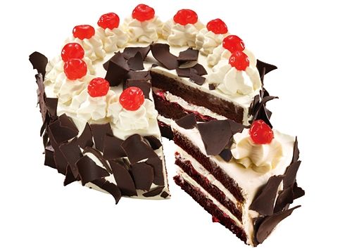 Red Ribbon Bakeshop Black Forest Cake