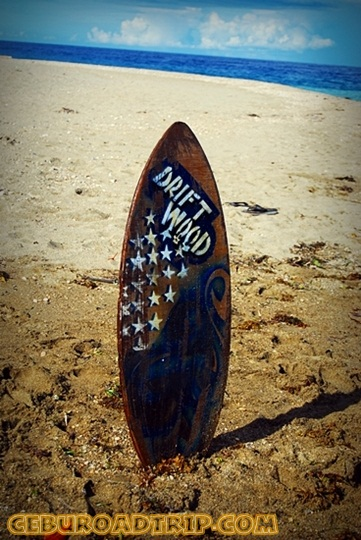 skimboard for rent in Argao