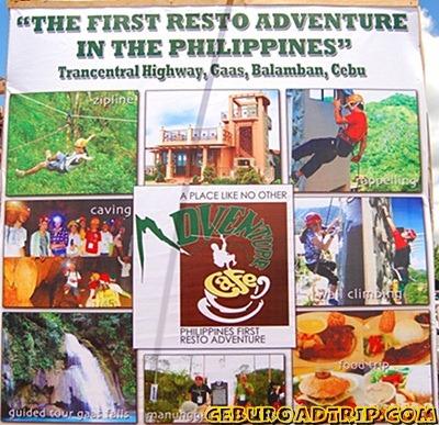 adventure cafe