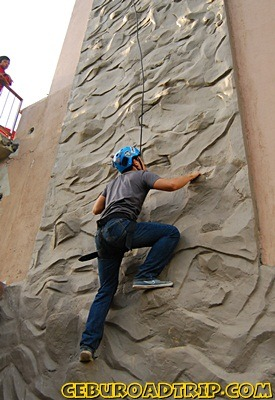 wall climb adventure cafe balamban cebu